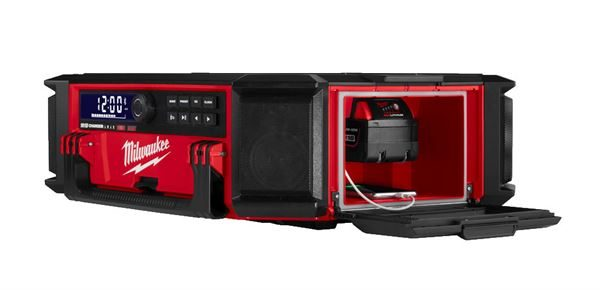 MILWAUKEE M18PRCDAB+ PACKOUT RADIO & CHARGER