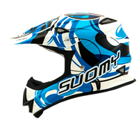 Suomy Mr Jump Vortex Blue Left