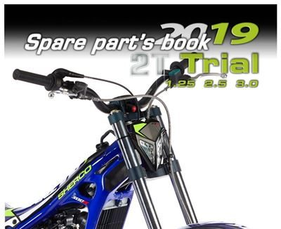 2019 ST Parts BooK Cover