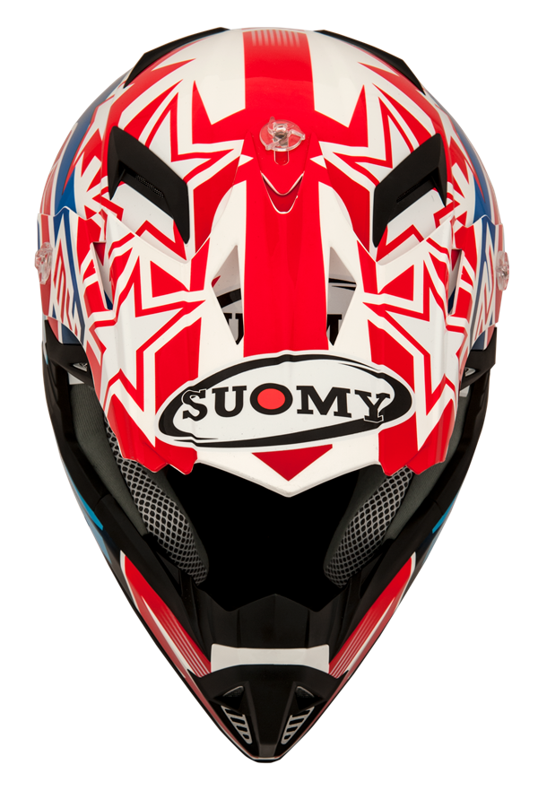Suomy Rumble White Front Top
