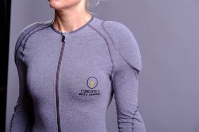 FORCEFIELD GTECH MARL GREY JACKET - Level 2