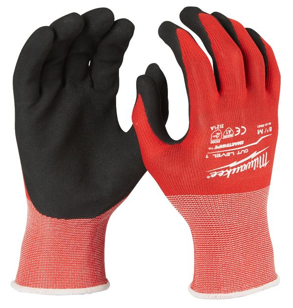 MILWAUKEE CUT LEVEL 1/A DIPPED GLOVES