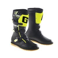Gaerne Classic Black/Yellow Flou Trials Boots
