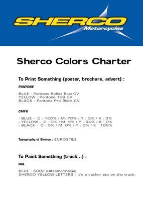 COLOUR CODES. colors_sherco