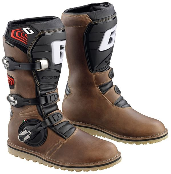 Gaerne Balance Oiled Brown Trials Boots