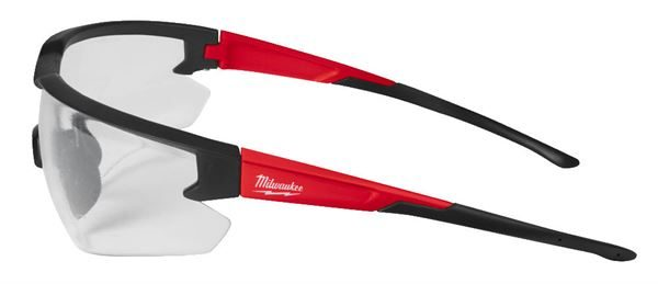 MILWAUKEE CLEAR SAFETY GLASSES